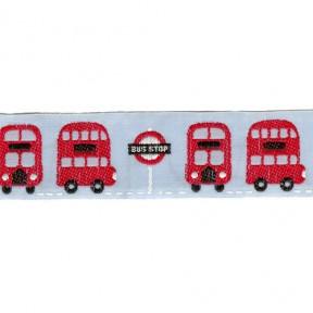 """Webband - London Bus """"blau"""""""