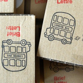 Little Britain - Stempel mit 4 M..