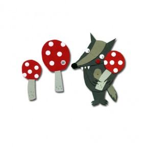 3er Magnet-Set Glückspilz