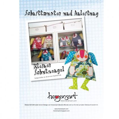 Kleiner Schutzengel - Schnittmuster & Anleitung (DEUTSCH)